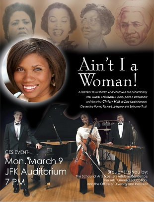 Theatre performance to celebrate Black History and Women's History Month.