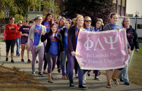 Greek Life Recruitment Kickoff Brings Campus Together