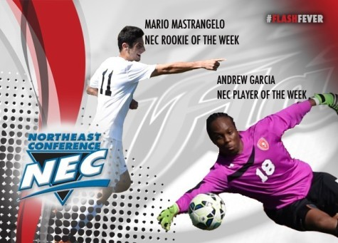 Red Flash Men's Soccer Sweeps NEC Weekly Awards