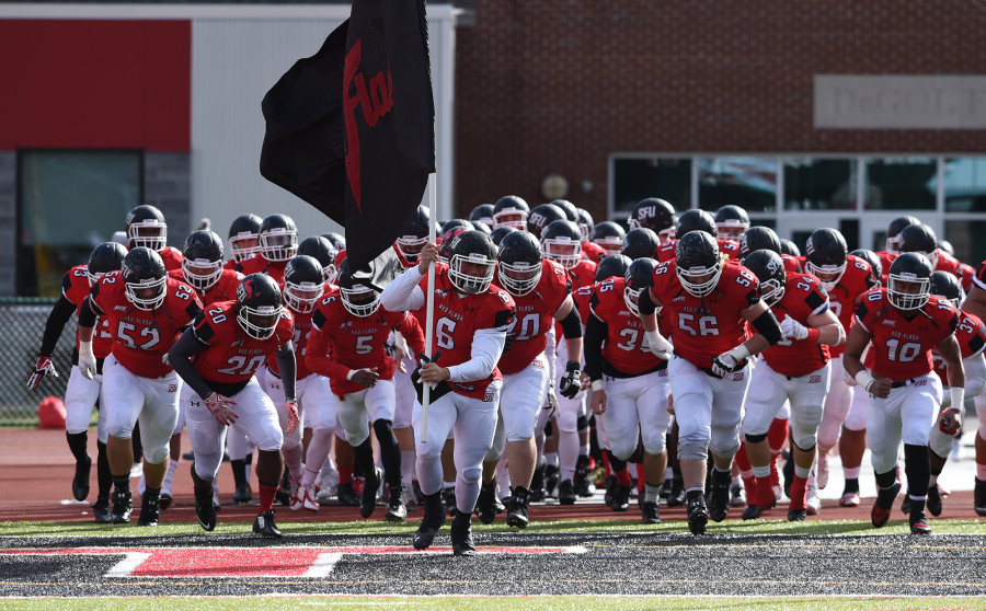 Football Team One Win Away From First Nec Title Troubadour