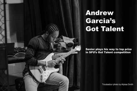 Guitarist Captures SFU's Got Talent Crown