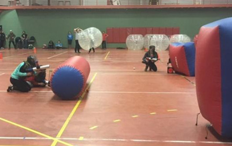 SAO Hosts Bongo Ball and Bubble Soccer Event