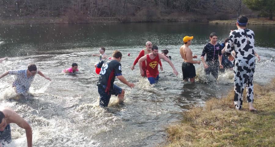 Tau Kappa Epsilon's Polar Bear Swim raises money for St. Jude's