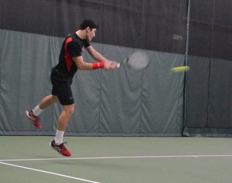 NEC Player of the Month Gervais looks to play pro tennis upon graduating