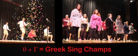 Fraternities, Sororities showcase talents