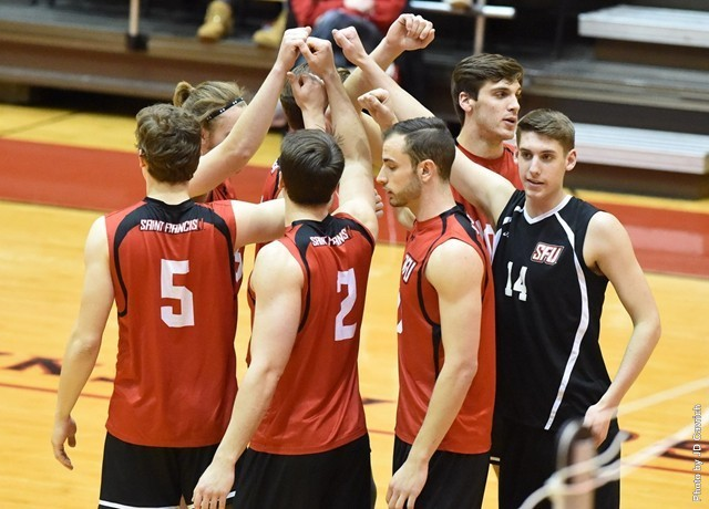 Upset of Penn State puts men's volleyball on brink of first EIVA title