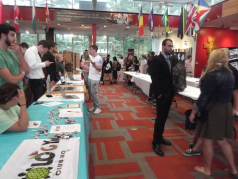 Annual Involvement Fair held in JFK