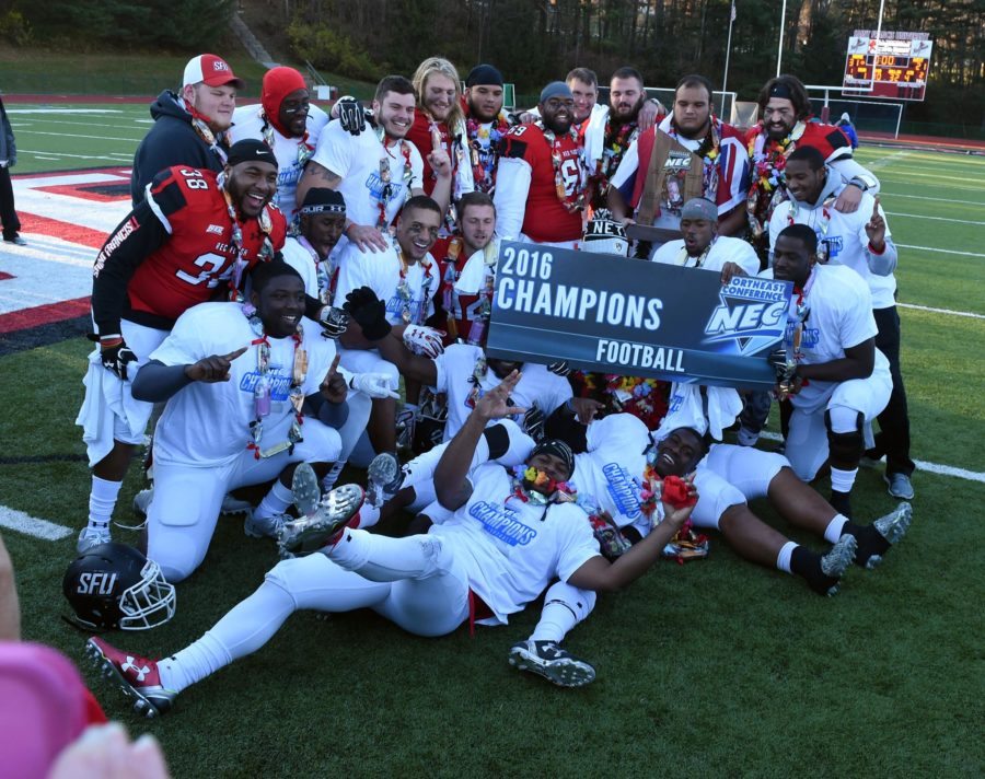 Football Team Captures First Conference Title