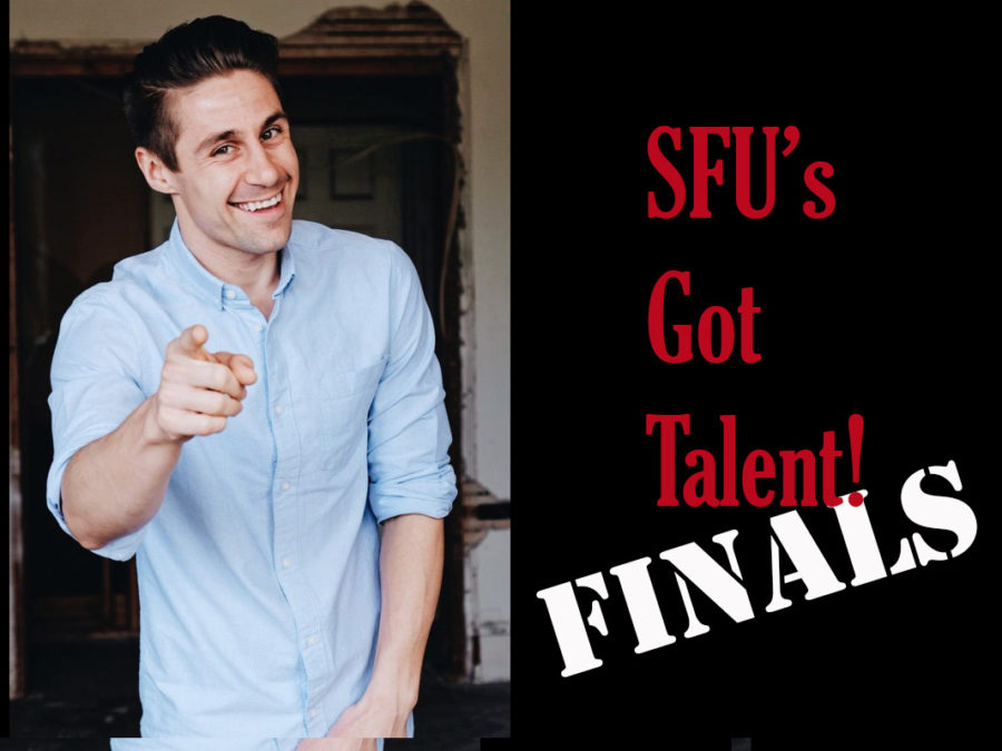 Comic of the Year to perform before SFU's Got Talent Finale