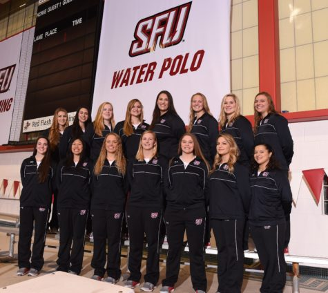 Red Flash Water Polo Ready for Action