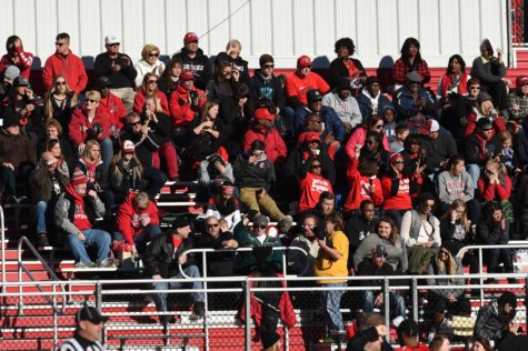 Football outdraws basketball in fan support