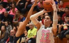 SFU Women's Basketball hosting Think Pink game