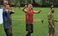 Father Malachi, fellow brothers complete Tough Mudder race