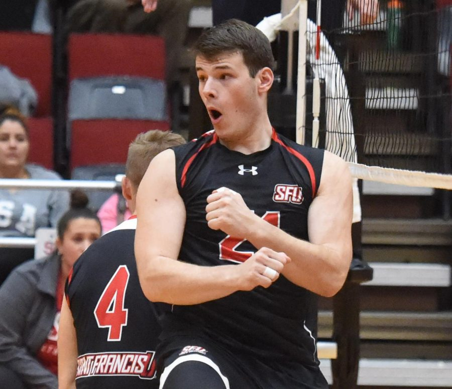 Men's volleyball player joins Loretto Borough Council