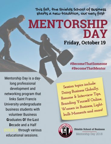 Shields School of Business to host Mentorship Day, Oct. 19