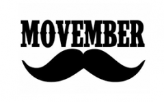 Students, faculty, staff participate in Movember