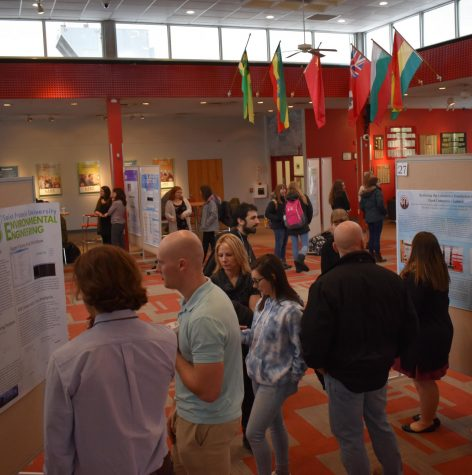 Student share projects at eighth annual Research Day