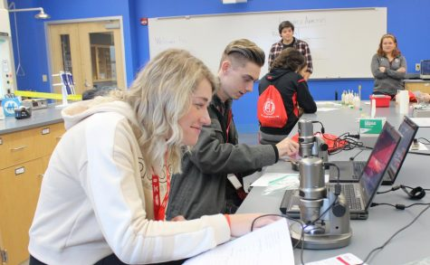 Saint Francis hosts high school students for Science Day