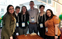 Chemistry majors present at Pittcon