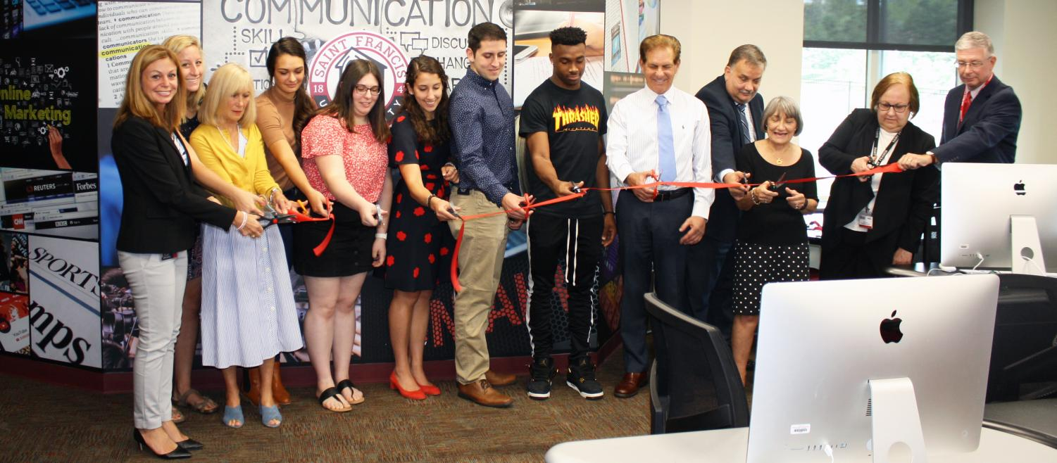 Zanzuccki Media Center Dedicated at Ribbon-Cutting Event