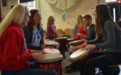 Drum Events Designed to Help Destress Students