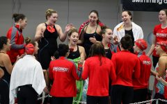 Swim Team Hosts Liberty Saturday in Lone Home Meet of Season