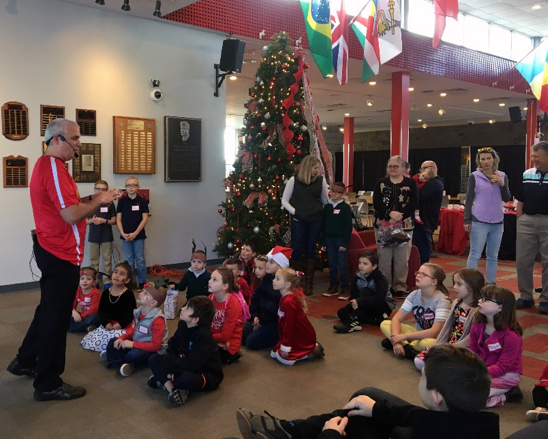 Children's Christmas Party Tradition Continues