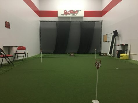 Golfers Utilizing Performance Center