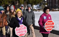 Students, Faculty, Staff, Community Participate in March on Mountain