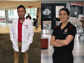 Narduzzi, Nguyen Named 2020 Mr. and Ms. Frankie Award Winners