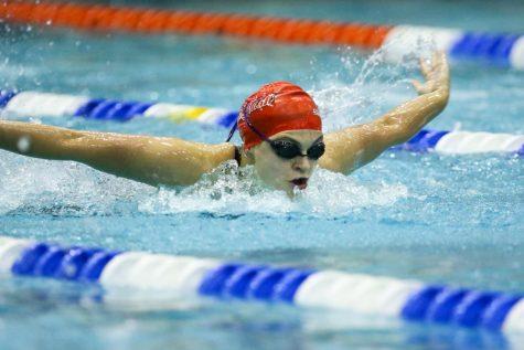 Swim Team Preps for NEC Championship