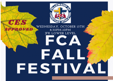 Fellowship of Christian Athletes Hosts Fall Festival