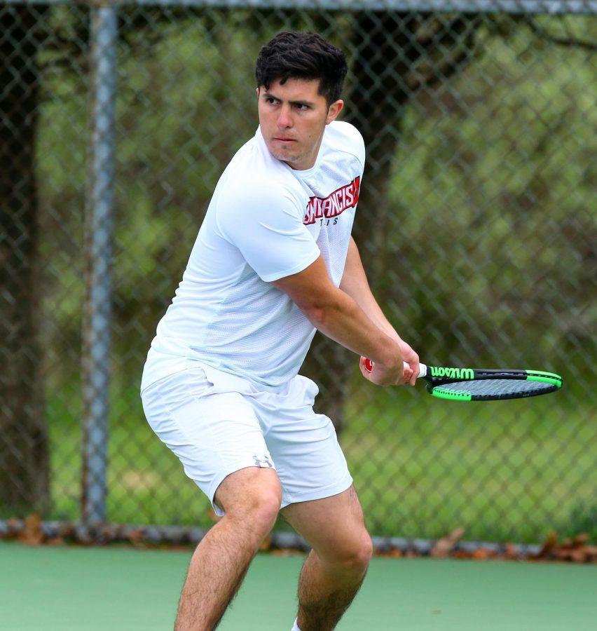 Men's Tennis Wraps Up Fall Season at ITA Tournament in Philadelphia