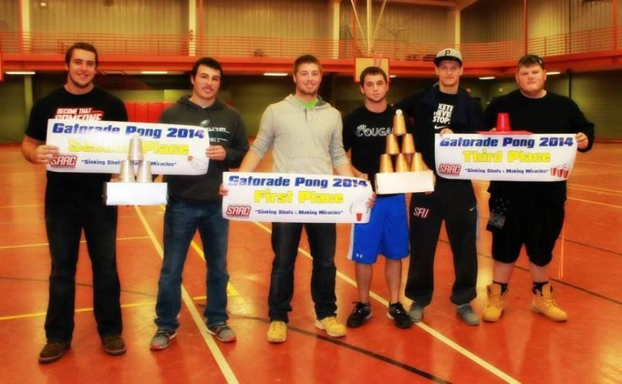 Gatorade+Pong+raises+record+amount
