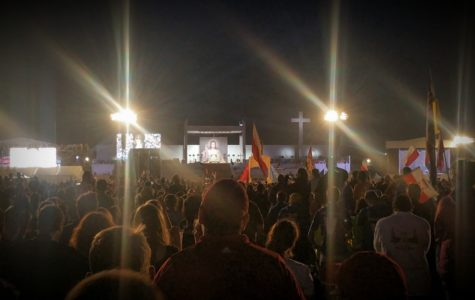 Scene from Matt Fraley Blog #6: the Vigil at World Youth Day