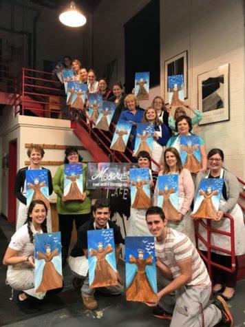 Class of 2020 hosts paint night