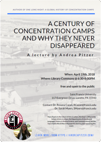 SFU welcomes author Andrea Pitzer