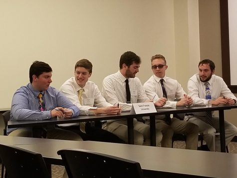 Debate Team competes at Ethics Bowl