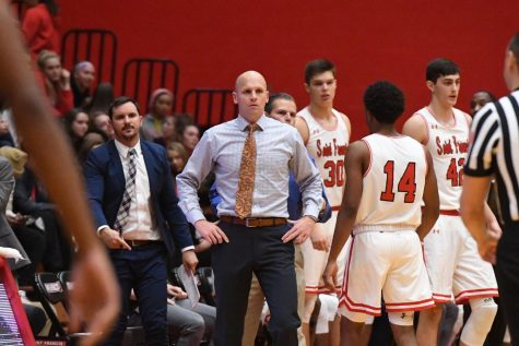 Krimmel moves into second place on Men's Basketball wins list
