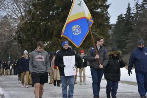 University hosts sixth annual March on the Mountain