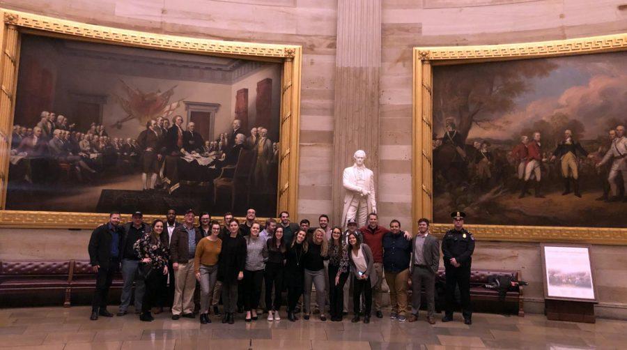 Business clubs visit Washington, D.C.