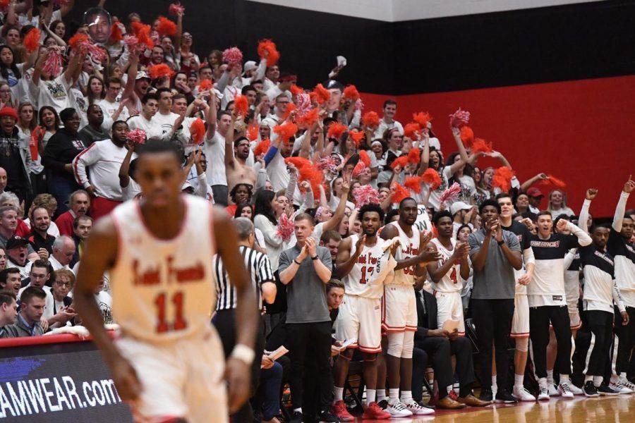 Men's Basketball closes season at NIT; memorable night for NEC title game
