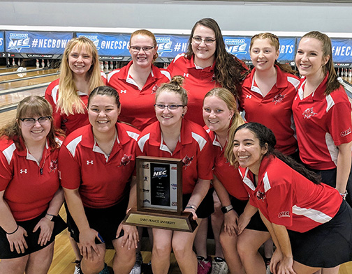 Bowling team wraps up season