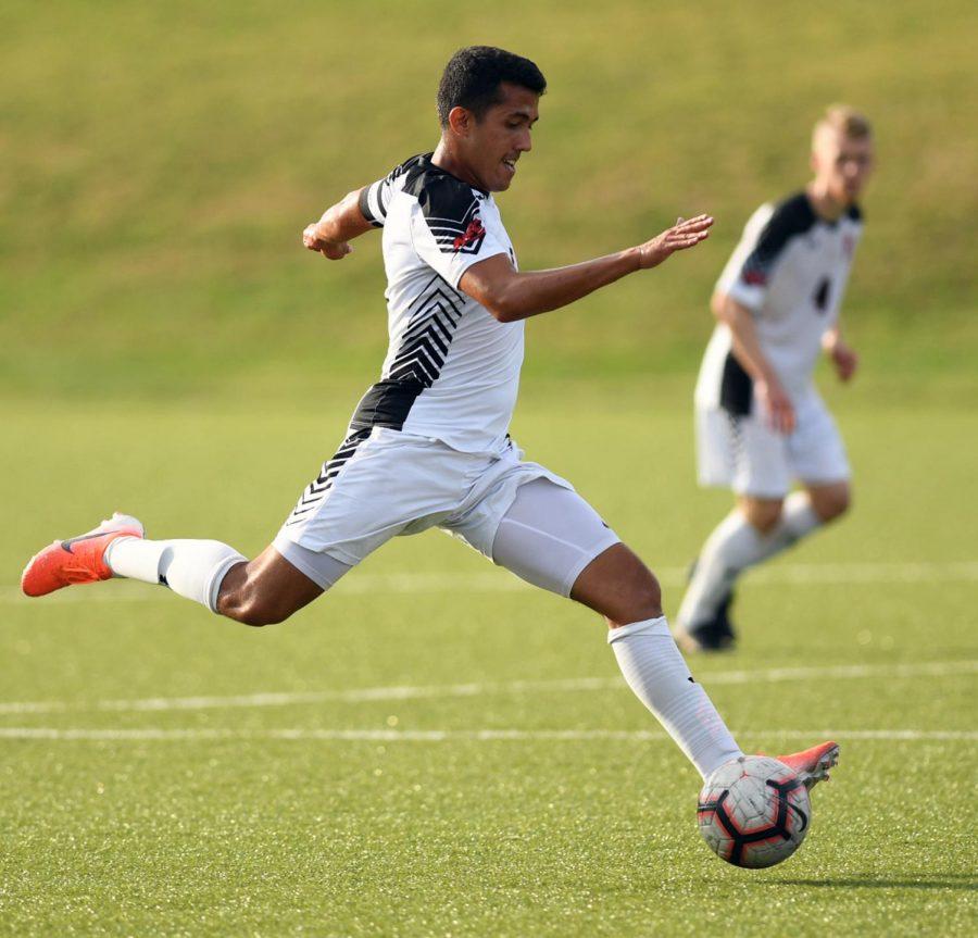 Men's Soccer Hosts FDU for NEC Home-Opener