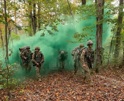 ROTC Students Participate in Fall Field Training