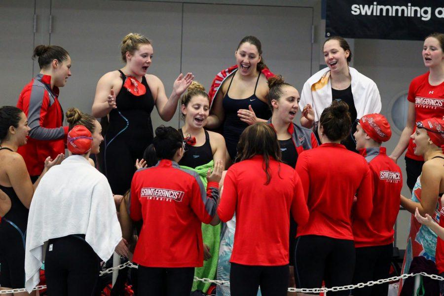 Swim Team Hosts Liberty Saturday in Lone Home Meet of Season