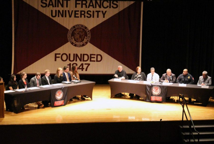 SGA Hosts Town Hall Meeting