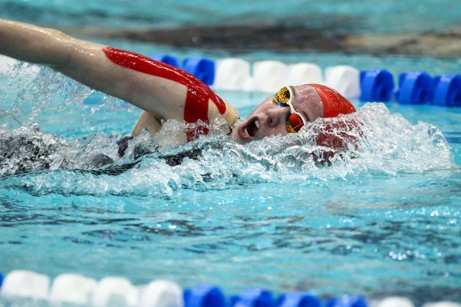 Swim Team Goes 2-3 at Western Pennsylvania Invite