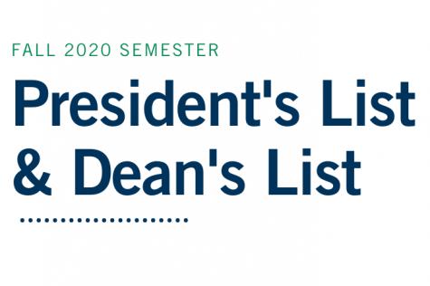 University Announces President's List and Dean's List Honorees