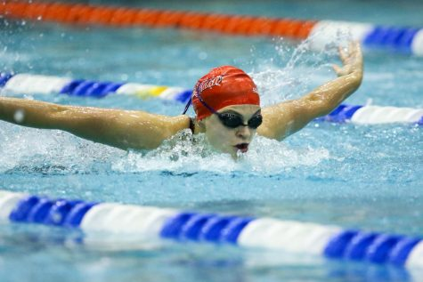 Swim Team Preps for NEC Championship